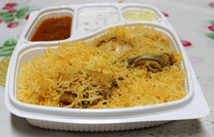 Power packed biryani!